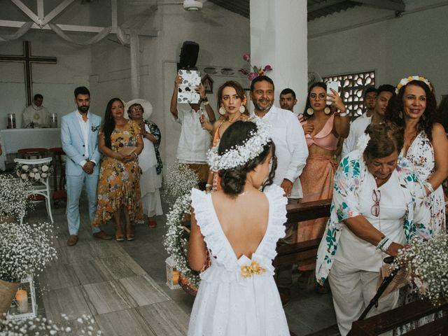 El matrimonio de Andres y Ana en Cartagena, Bolívar 159