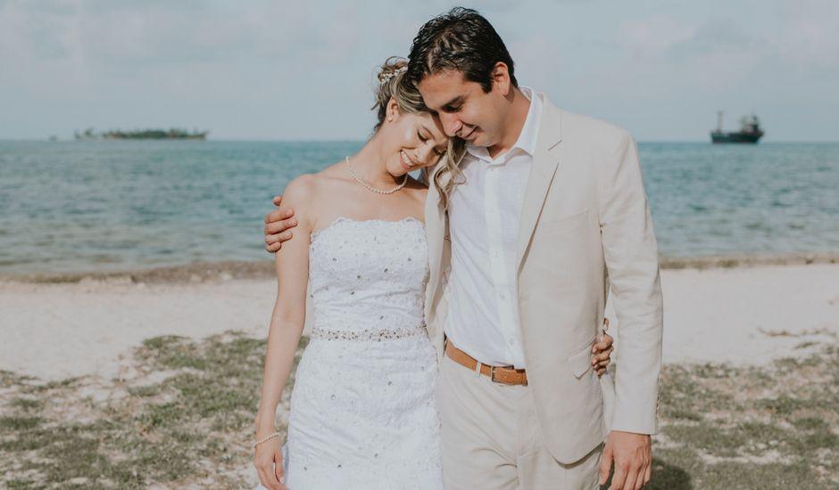 El matrimonio de Andrés y Marcela en San Andrés, Archipiélago de San Andrés