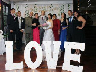 El matrimonio de Daniela  y César  1