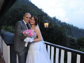 El matrimonio de Daniela  y César
