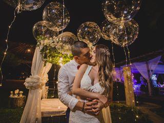 El matrimonio de Juliana y David