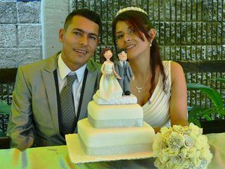 El matrimonio de Yeniffer y John Fredy