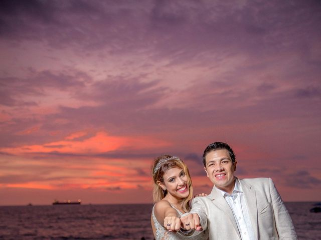 El matrimonio de natalia y Gustavo en Santa Marta, Magdalena 3