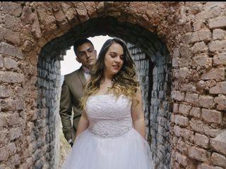 El matrimonio de Dani y Cris