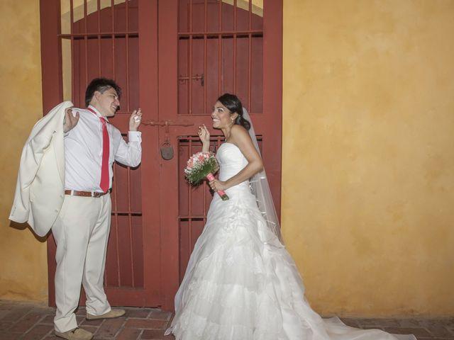 El matrimonio de Norma y David en Cartagena, Bolívar 5