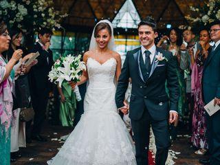 El matrimonio de Fabiana y Santiago