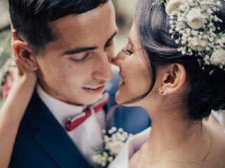 El matrimonio de Indie y Andrés