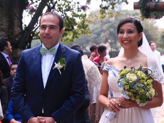 El matrimonio de Magda y Javier