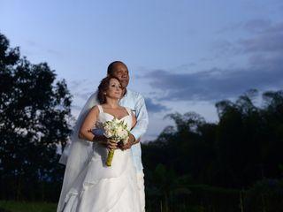 El matrimonio de Clara Ortiz y Jesus Hinestroza