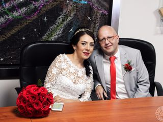 El matrimonio de Adriana y Andrés  1