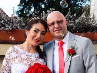 El matrimonio de Adriana y Andrés