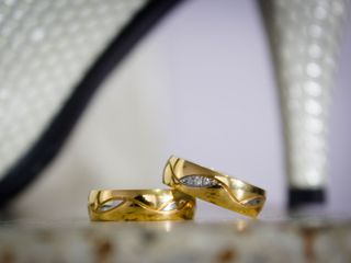 El matrimonio de Johanna y Cristian 1