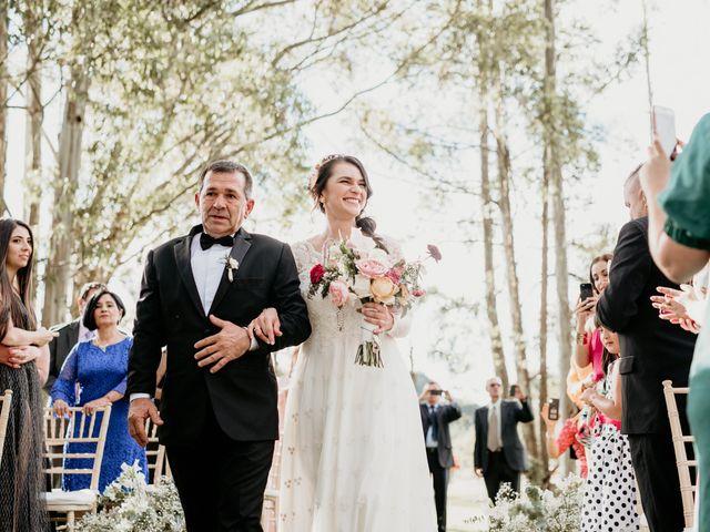 El matrimonio de Diego y Eliana en Rionegro, Santander 44