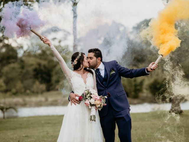 El matrimonio de Diego y Eliana en Rionegro, Santander 66