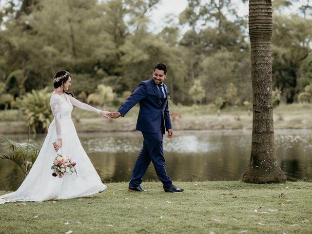 El matrimonio de Diego y Eliana en Rionegro, Santander 1