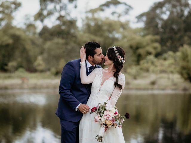 El matrimonio de Diego y Eliana en Rionegro, Santander 73