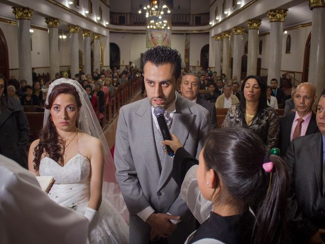 El matrimonio de Johanna y Cristian