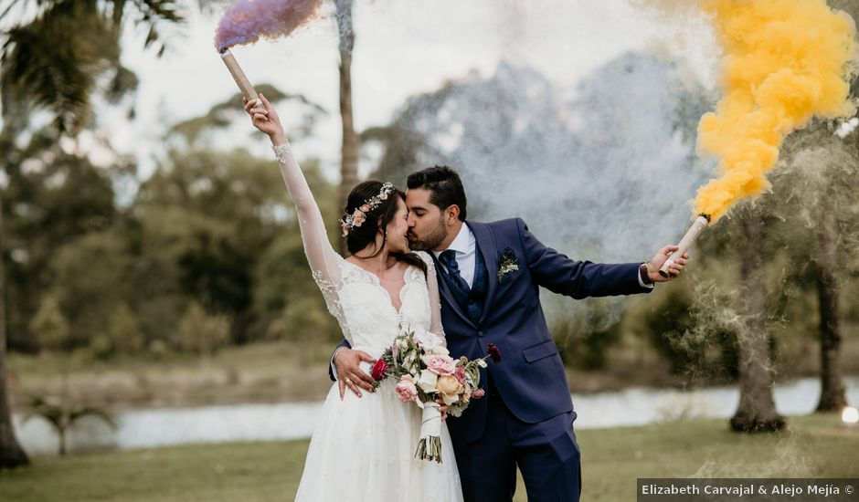 El matrimonio de Diego y Eliana en Rionegro, Santander