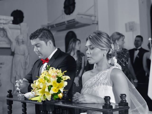 El matrimonio de Juan y Mary en Cartagena, Bolívar 9