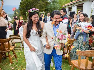 El matrimonio de Angela y Nicolas