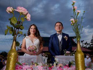 El matrimonio de Leo y Diana