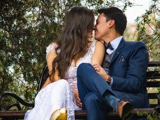El matrimonio de Clara y Felipe