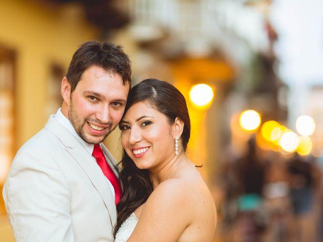 El matrimonio de MIchel y Aleyda