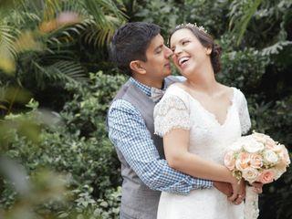 El matrimonio de Andres y Maria