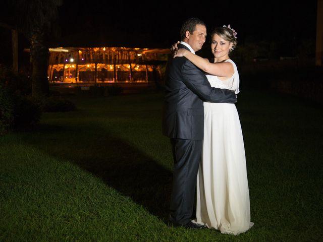 El matrimonio de Cristina y Santiago