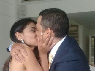 El matrimonio de Andrés y Erika