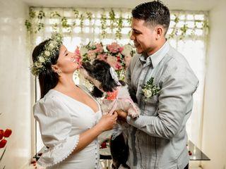 El matrimonio de Kevin y Yennifer