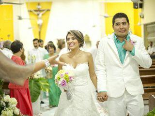 El matrimonio de Leiny y Eiver