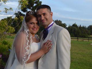 El matrimonio de Zaira y Andrés