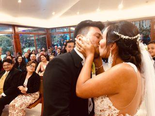 El matrimonio de Alejandra y Dennys