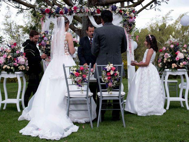 El matrimonio de Jeison  y Paola Andrea en Cota, Cundinamarca 1