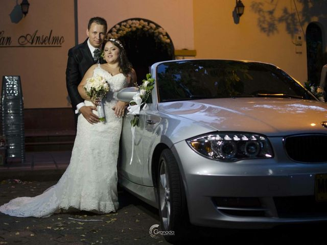 El matrimonio de Sandra y Gustavo