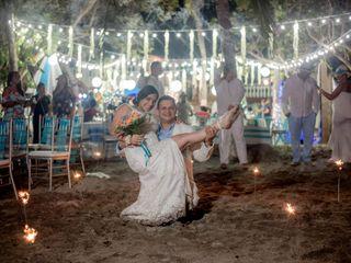 El matrimonio de Katriny y Uriel