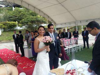 El matrimonio de Wendy  y Javier