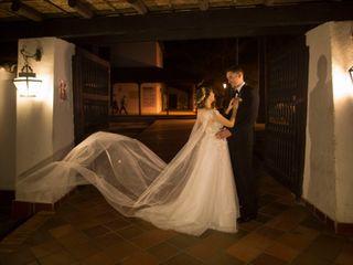El matrimonio de Silvia y Ellery