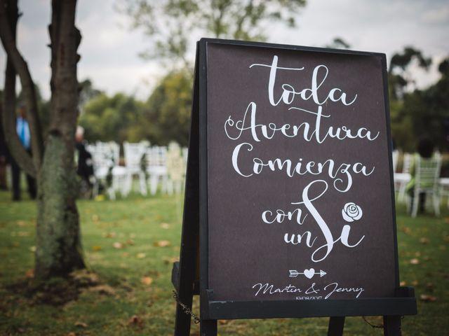El matrimonio de Martín y Jenny en Bogotá, Bogotá DC 18