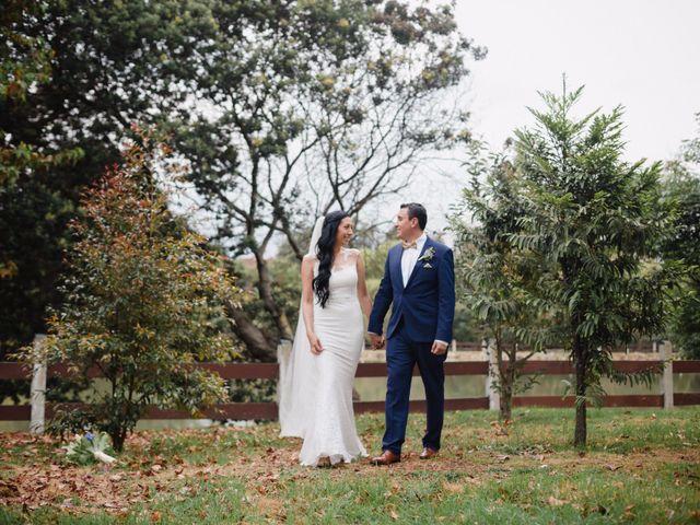 El matrimonio de Jenny y Martín