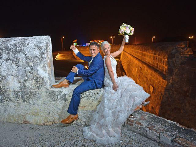 El matrimonio de Asha y Esteban
