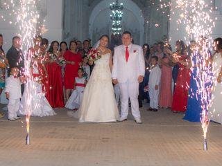 El matrimonio de Faizulay y Darwin