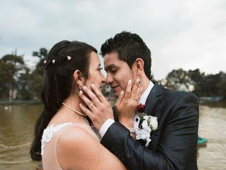 El matrimonio de Ángela y Charly