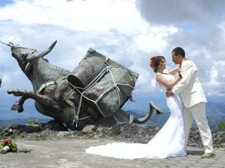 El matrimonio de Kelly y Luis
