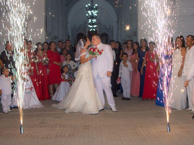 El matrimonio de Darwin y Faizulay en Ciénaga, Magdalena 4