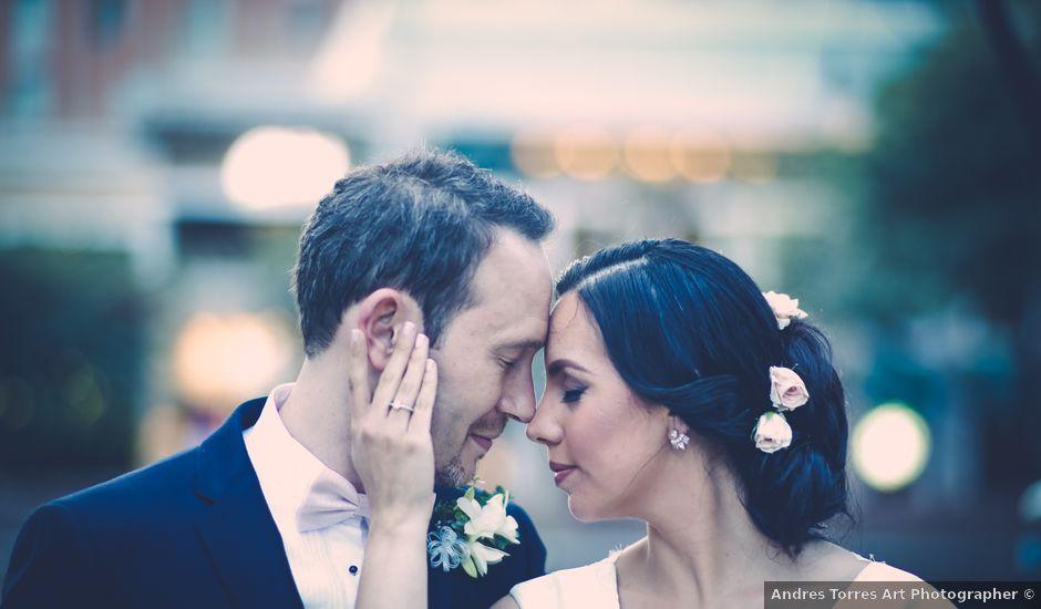 El matrimonio de Alexandre y Natalia en Bogotá, Bogotá DC