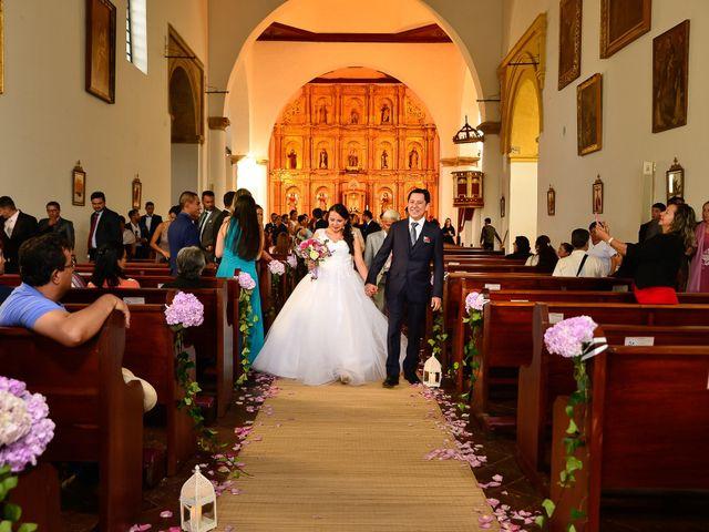 El matrimonio de Jorge y Dayanna en Villa de Leyva, Boyacá 8