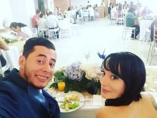 El matrimonio de Julian David y Carolina