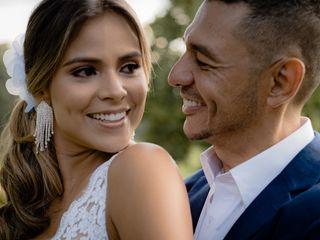 El matrimonio de Andrés y Cindy